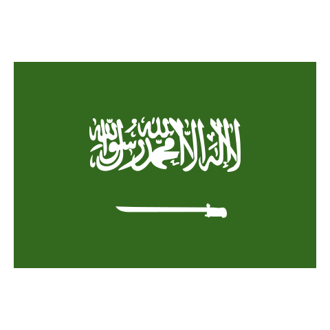 country flag of Saudi Arabia